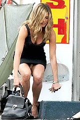 Beautiful Aniston upskirts